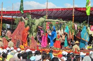 جشن داسارا در میسور، عکاس جلال جعفرپور، 1391،هند، میسور
