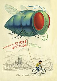 پوستر سی و ششمین جشنواره بین المللی فیلم کوتاه کلرمونت فراند